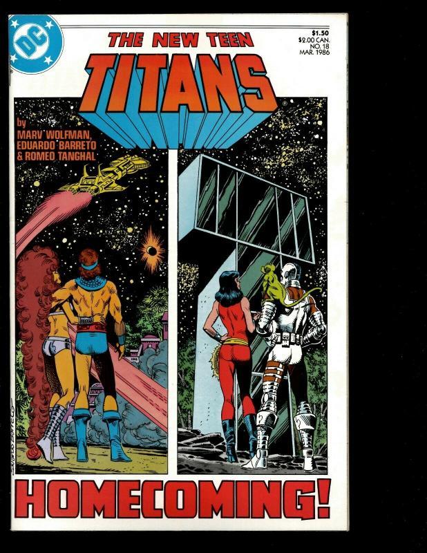 Lot Of 12 New Teen Titans DC Comics # 9 10 11 12 13 14 15 16 17 18 19 20 JF7