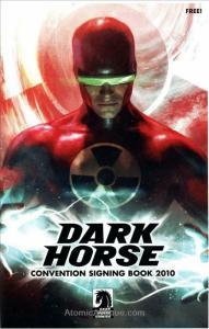 Dark Horse Comics Convention Signing Book #2010 VF; Dark Horse | save on shippin