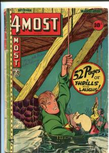 4MOST COMICS V.7#2-WEIRD L.B. COLE COVER VG