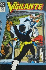 Vigilante #38 DC Comic 1987 Copper Age FN