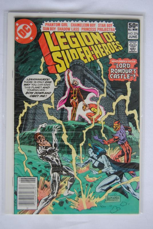 Legion of Super-Heroes 276