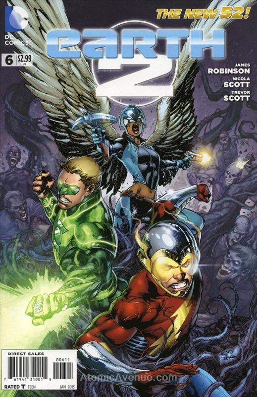 Earth 2 #6 FN; DC | save on shipping - details inside