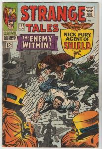Strange Tales #147 (Aug-66) VF+ High-Grade Nick Fury, Dr. Strange