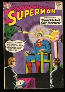 Superman #126 VG- 3.5 Lois Lane!