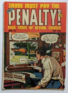 Crime Must Pay The Penalty #26 (Jun 1952, Ace) VG- 3.5