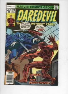 DAREDEVIL #148 FN/VF  Murdock, Gil Kane, 1964 1977, more Marvel in store