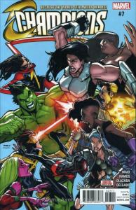Champions #7 VF/NM; Marvel | save on shipping - details inside