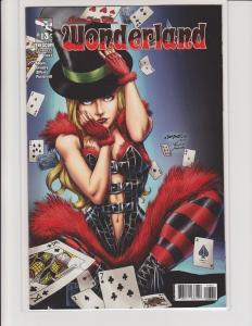 Wonderland #13 Cover C Zenescope Comic NM Salgado
