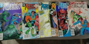 ARION LORD OF ATLANTIS  # 3 4 5 6 11 19  1983  DC COMICS  MAGIC SORCERY