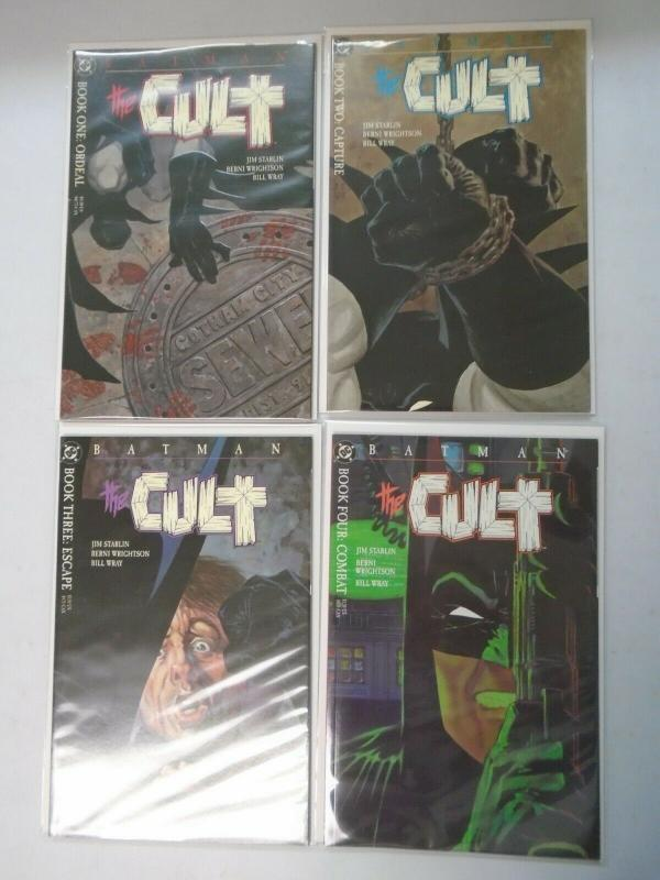Batman The Cult set #1-4 (1988) 8.0/VF