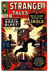STRANGE TALES #141 comic book JACK KIRBY-NICK FURY-SILVER AGE-MARVEL FN+