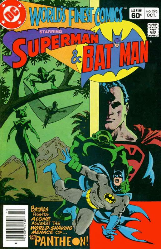 World's Finest Comics #296 (Newsstand) VG; DC | low grade comic - save on shippi