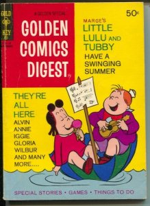 Golden Comics Digest #11 1971-Little Lulu and Tubby-VG