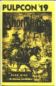 Pulpcon #19-Program Book 1990-W. Ryerson Johnson-John Fleming Gould-FN
