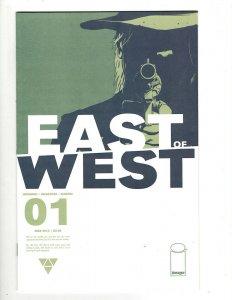 East Of West # 1 NM 1st Print Image Comic Book Hickman Dragotta Martin HR8