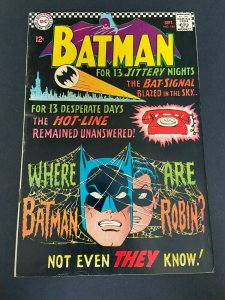 Batman 184 VG+  (DC Sept. 1966)