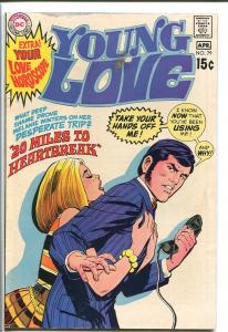 YOUNG LOVE #79-DC ROMANCE-GOOD ISSUE-NICE COVER VG