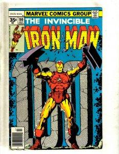 Iron Man # 100 VF/NM Marvel Comic Book Avengers Hulk Thor Captain America J462