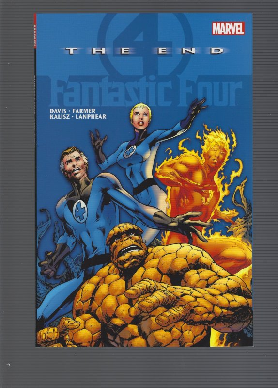 Fantastic Four: The End Softcover Trade Paperback 15.99 SRP