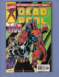 Deadpool #7 NM-/NM Marvel 1997