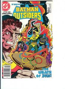 Batman and the Outsiders, Number 14, October, 1984 (VF/NM)