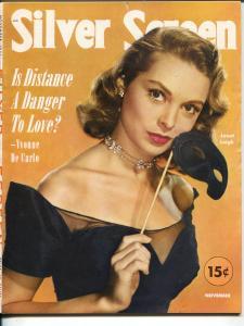 Silver Screen-Janet Leigh-John Barrymore Jr-Charlton Heston-Bob Hope-Nov-1951