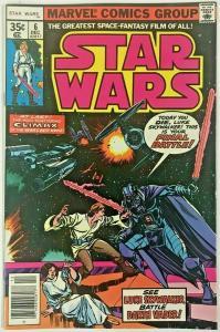 STAR WARS#6 VF 1977 MARVEL  BRONZE AGE COMICS