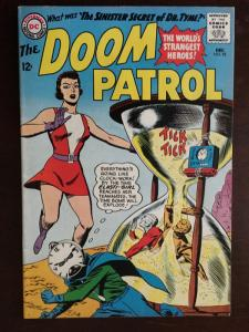 DOOM PATROL! #92 SUPER BRIGHT VF GLOSSY!!  CLASSIC! DR. TYME! BEAUTY!