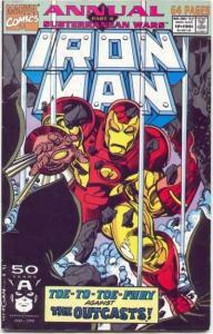 Iron Man (1968 series) Annual #12, NM- (Stock photo)
