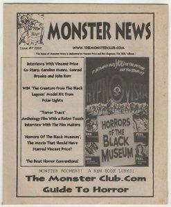 Monster News #7 (2002) Monsterclub.com Fanzine VF