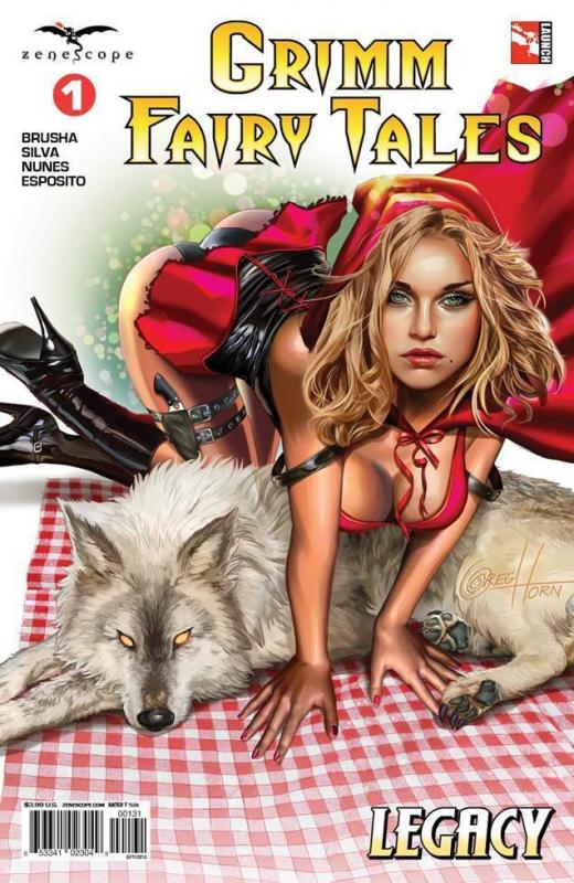 Grimm Fairy Tales #1 Volume 2 Cover C Variant by Greg Horn 1st Print New NM Hot