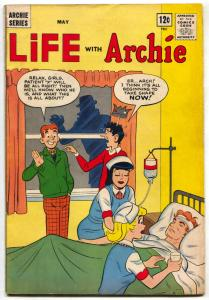 LIFE WITH ARCHIE #27 1964- Silver Age- Nurse cover VG/F
