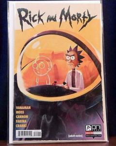 RICK and MORTY #29, 1st, NM, Grandpa, Oni Press,from Cartoon, 2015, Variant