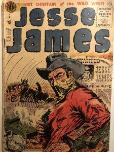 Jesse James #29, Kinstler cover, GD