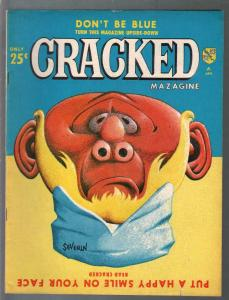 Cracked #41 1965-Major Mags-John Severin-Pete Wyma-Bill Ward-FN-