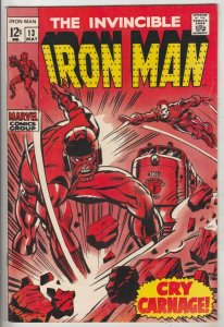 Iron Man #13 (May-69) NM- High-Grade Iron Man