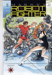 Magnus Robot Fighter #1 (May-91) NM+ Super-High-Grade Magnus Robot Fighter
