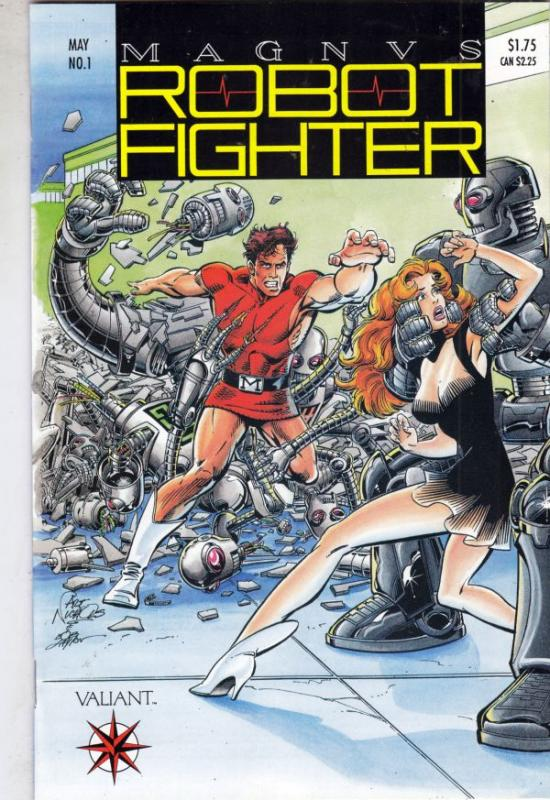 Magnus Robot Fighter #1 (May-91) NM+ Super-High-Grade Magnus Robot Fighter