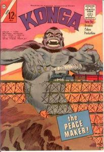 KONGA (1961-1965 CH) 13 FINE   July 1963 COMICS BOOK