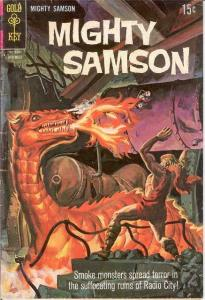 MIGHTY SAMSON 16 VG   November 1968 COMICS BOOK