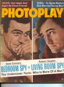 Photoplay-Sean Connery-Robert Vaughn-Judy Holliday-Marilyn Monroe-Sept-1965