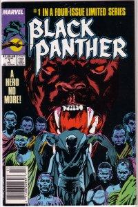 Black Panther (vol. 2, 1988) #1 of 4 FN Gillis/Cowan