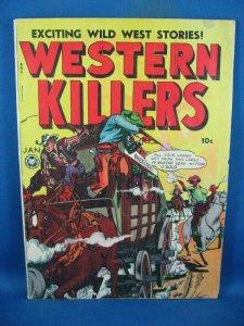 WESTERN KILLERS 62 VG F 1949