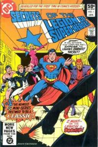 Secrets of the Legion of Super-Heroes #1, Fine- (Stock photo)