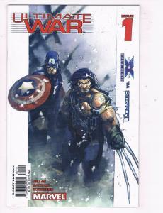 Ultimate War #1 NM Marvel Comics Comic Book Millar X-Men Avengers 2003 DE46