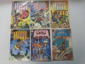 Hammer of God lot 2 sets 6 different issues 8.0 VF (1990-91 First Publishing)