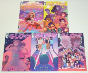 GLOW #1-4 VF/NM complete series + summer special - based on the netflix show