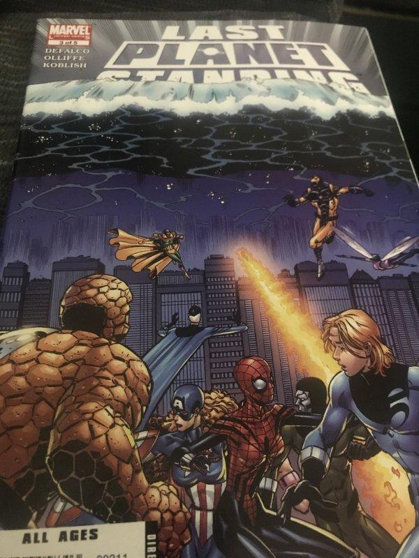 Marvel  Last  Planet Standing #3 Mint