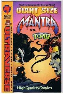 MANTRA #1 Giant Size, vs Topaz, 1994, VF/NM