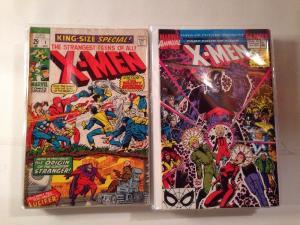 Uncanny X-men King Size Special Annual 1-18 96-98 00-01 VF/NM Lot Set